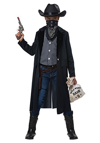 Wild West Sheriff Child Costume Black/White -