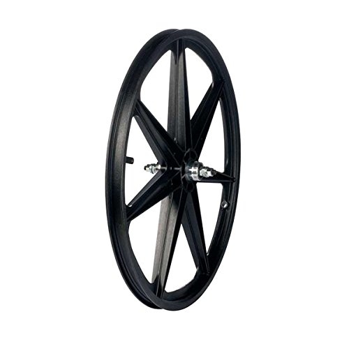 Skyway H Tuff II Mag Rear Wheel Black 24 x 1.75, SV, 1s FW, 3/8 NT, 7 (Seven Spoke)