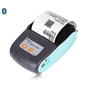 LAY Impresora térmica de Recibos inalámbrica PT210 Bluetooth ...