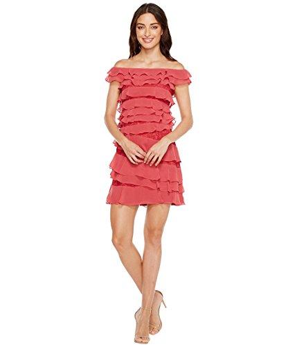 [アドリアナパペル] Adrianna Papell レディース Cynthia Lace Off the Shoulder Tiered Dress ドレス [並行輸入品]