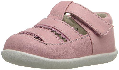 See Kai Run Brook II Gladiator Sandal , Pink, 6 M US Toddler