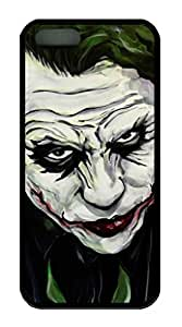 iPhone 5S/5 Case,Black Color,Soft TPU,Protective Case,Soft Case(Case can be customized)Latest style Case,Soft Cover Snap on Case,Ultra-thin Case,Protective iPhone-JokerA22