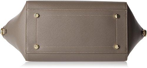 Trussardi Jeans 75b00014-1y090122, Borsa a Mano Donna, 50x39x17 cm (W x H x L) Beige (Taupe)