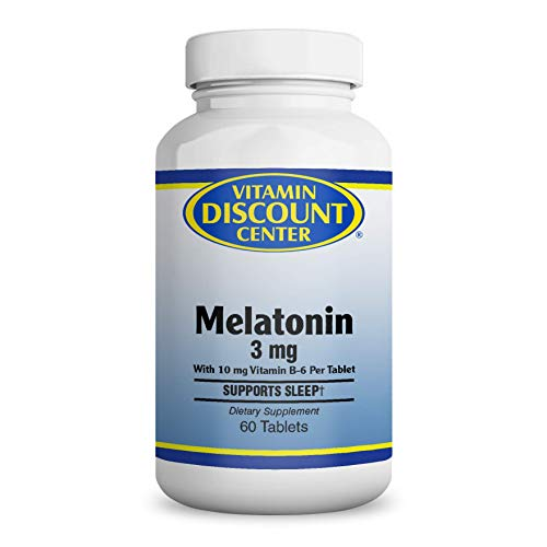 Amazon.com: Vitamin Discount Center Melatonin 5 mg, 60 Tablets: Health & Personal Care