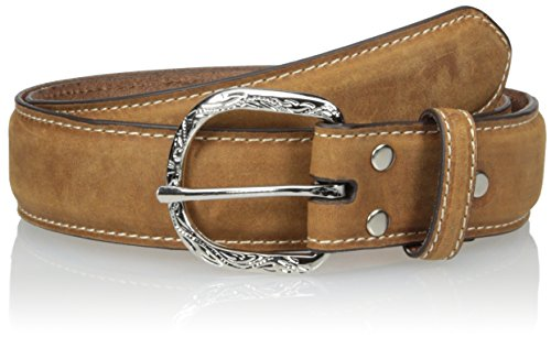 Nocona Belt Co. Men's Distressed Basic Buckle, Medium Brown, 40