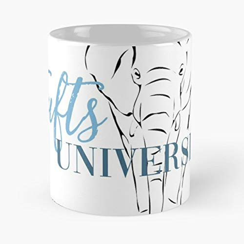Tufts University Jumbo Elephant - Best Gift Ceramic Coffee Mugs