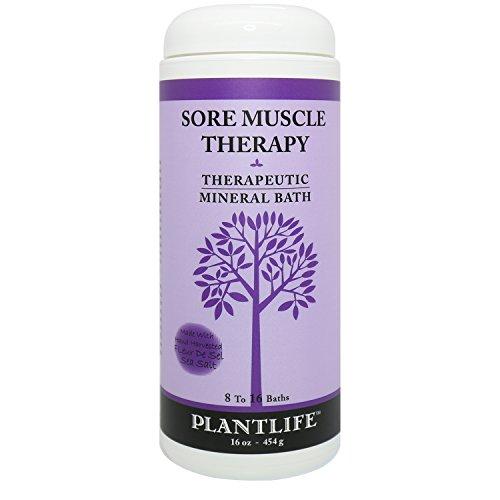 Sore Muscle Therapeutic Mineral Bath Salt- 16 oz