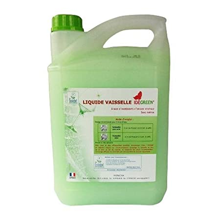idegreen - Líquido lavavajillas Plonge Ecolabel (5 litros): Amazon ...