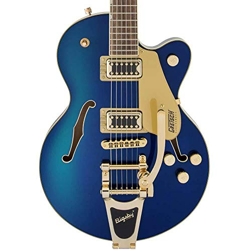 - Gretsch G5655TG Electromatic Center Block Jr. Electric Guitar (Azure Metallic)
