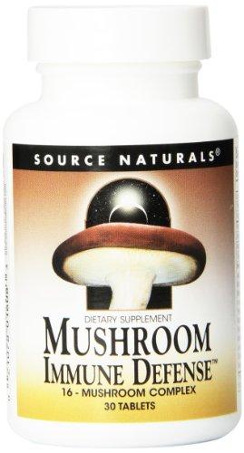 Источник Naturals гриб иммунная защита, 30 таблеток