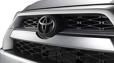 Genuine Toyota 4Runner Blackout Emblem Overlay Set PT948-89180-02. Black 5 Piece Emblem Overlay Set. 2018-2019 4Runner.