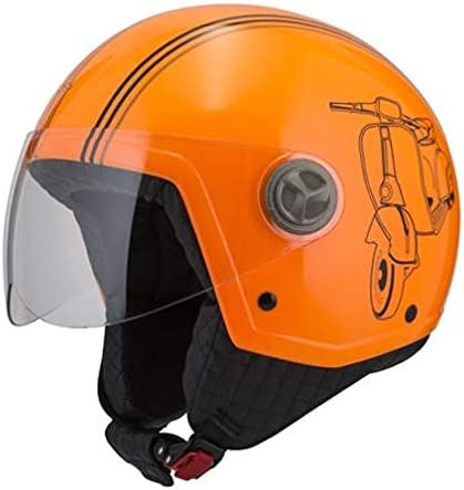 NZI Zeta Graphics Sprint flúor Tangerine XXS
