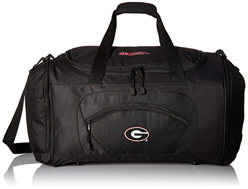 (Officially Licensed NCAA University of Georgia Roadblock Duffel Bag)