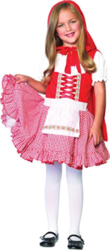 Girls Lil Miss Red Riding Hood Costumes - Lil Miss Red Child Costume -