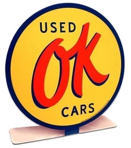 Ok Used Cars >> Amazon Com Ok Used Cars Metal Table Desk Shelf Topper Home Kitchen