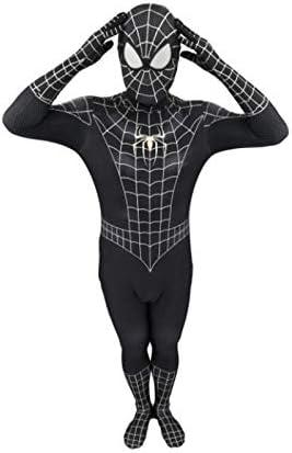 HYYSH Traje de Spiderman Negro Cosplay Disfraz de Anime Disfraz de ...