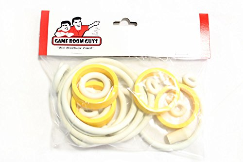 Game Room Guys 1976 Bally Capt Fantastic Pinball White Rubber Ring Kit