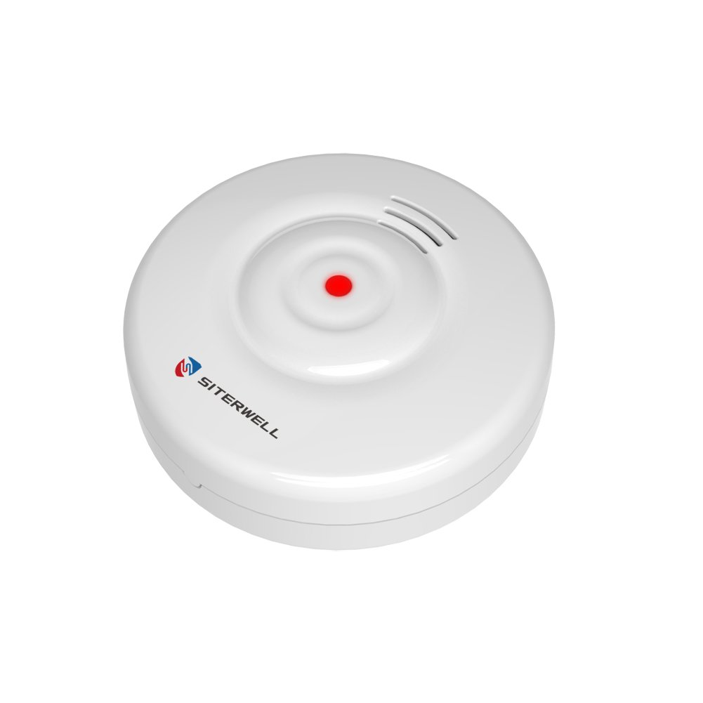 SITERWELL Water Leakage Alarm and Battery Operated Water Detection and Sensor Battery Included GS152