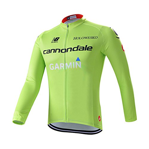 Strgao 2016 Men's Pro Racing Team Garmin Cannondale MTB bike Bicycle Cycling Long Sleeve Jersey Jacket
