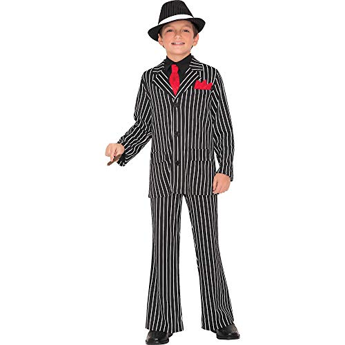AMSCAN Gangster Guy Halloween Costume for Boys, Large, with Included Accessories