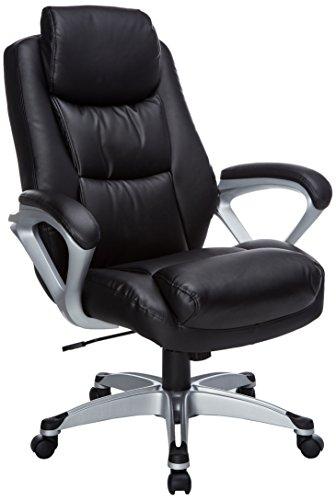 Lorell LLR52120 Executive Leather High-Back Chair, 2.5 Height X 5.3 Width X 18.6 Length