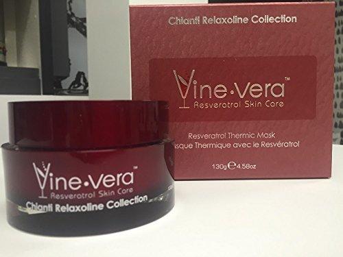Price comparison product image Vine Vera Chianti Collection Resveratrol Thermic Mask 4.58 Oz