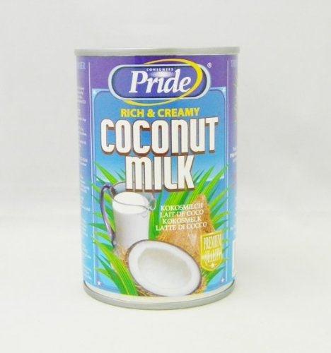 Pride - Leche de coco rica y cremosa - 400 ml - Pack de 2 unidades: Amazon.es: Alimentación y bebidas