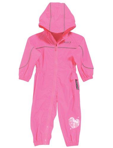 Regatta wasserdichter und leichtgewichtiger Kinder Regenanzug, Lippenstift Pink, Gr.92/98