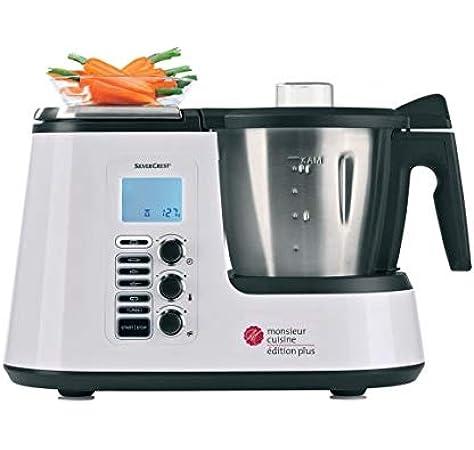 SILVERCREST Robot de Cocina Monsieur Cuisine Plus: Amazon.es