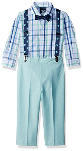 IZOD Baby Boys' Suspender Set