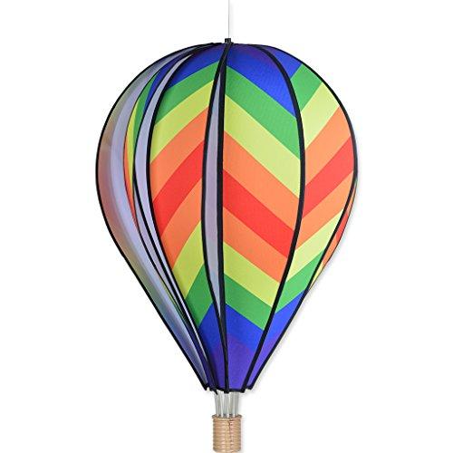 Premier Kites 26 in. Hot Air Balloon - Traditional Rainbow