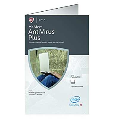 McAfee 2015 Antivirus Plus 1 PC