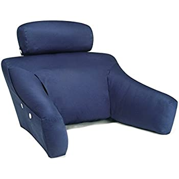 Bedlounge Hypoallergenic (Regular Size, 100% Cotton Navy Blue Cover):The  Ultimate