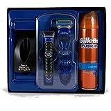 Gillette Fusion Proglide Style Men's Gift Set Grooming Kit