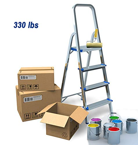 Light Aluminium Step Ladder in US - 5
