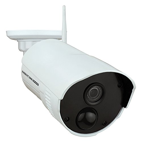 Best Night Owl Security Add-on Indoor/Outdoor Wireless 1080p AC Powered Camera, White (CAM-WNR2P-OU)