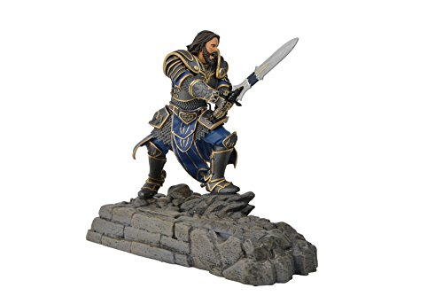 Swordfish Tech Warcraft, Lothar Statue Phone Charging Dock – Warcraft Movie Official Licensed