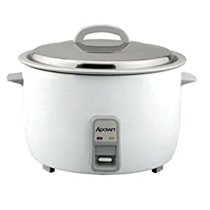 Adcraft Countertop Heavy Duty Rice Cooker, 25 Cup Capacity - 1 each.
