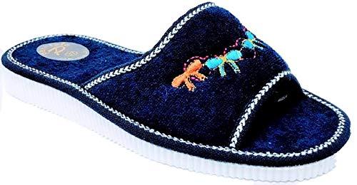 Donna Spa Ciabatte Blu Piscina Mare Ischia Sandalo Art 100 Spugna xIadqgCw