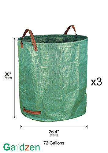 Review Gardzen 3-Pack 72 Gallons