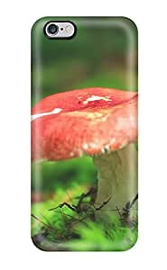 TYH - Diushoujuan 9977708K99466780 Tpu Case Cover For Iphone 6 plus 5.5 Strong Protect Case - Red-capped Mushroom Design phone case