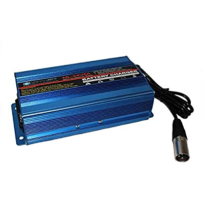 Mighty Max Battery 24V 5Amp Jazzy Select, Select HD Three Stage XLR Scooter Charger Brand Product : Sports & Outdoors