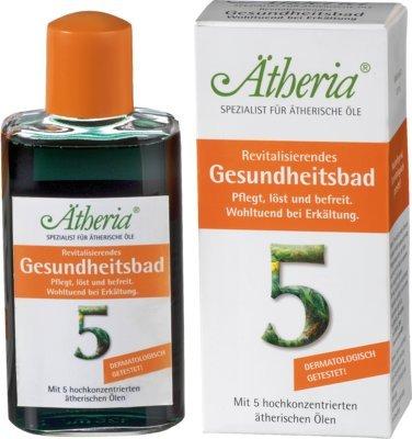 ÄTHERIA revitalisierendes Gesundheitsbad 125 ml Bad