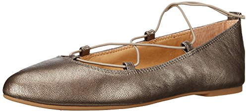 Lucky Womens LK-Aviee Pointed Toe Flat Pewter 6nQgl