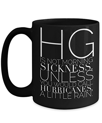 HG is not morning sickness mug