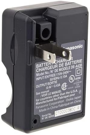 FZ18, FZ28, FZ35, FZ8 Panasonic DE-A43BB Battery Charger for CGR-S006A