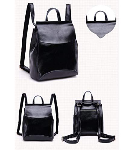 Sac Mode Sac Sac Main Nouveau Black Dame à Pour Sac De Simple étudiant Dos Sauvage Femelle à à Femme Dos 8wwB0Oq