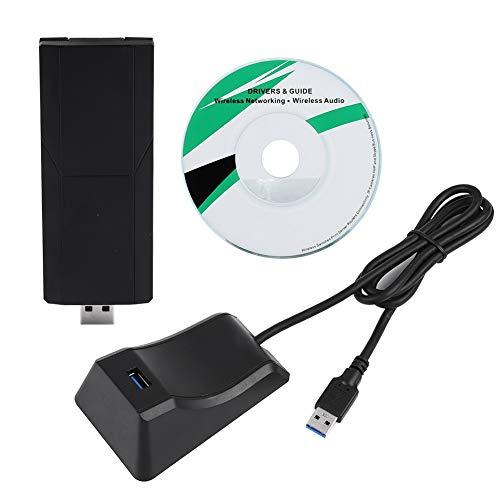 - fosa 1900Mbps 2.4/5GHz Wireless Adapter Dual Band High Speed USB3.0 Wireless Network Adapter for Apple OSX Windows Vista PC