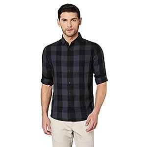 Dennis Lingo Men's Slim fit Casual Shirt