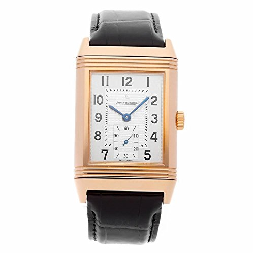 Jaeger LeCoultre Reverso mechanical-hand-wind mens Watch Q3732520 (Certified Pre-owned)